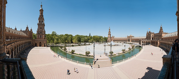 Plaza de Espana Wide