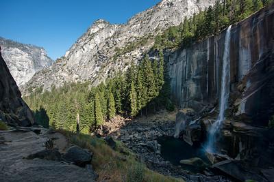 Vernal Falls Overlook Mid-Summer