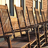 Deck Chairs, Muted Colors