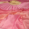 fan tonal pinks/ geranium pink hand