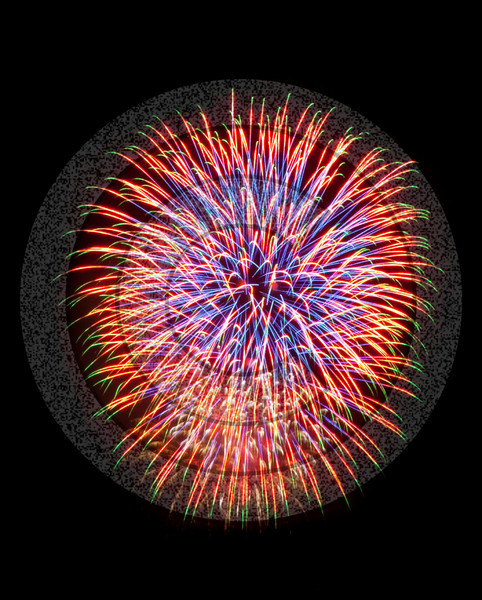 Bright colorfull fireworks burst to dramatic life in these issolated shells. This image prints amazingly on metallic paper.
