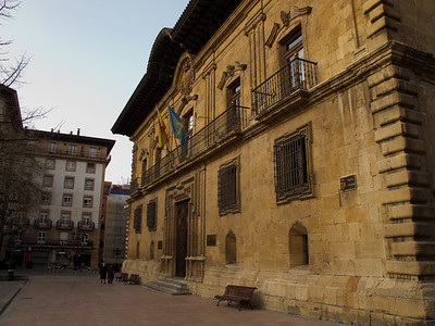 Near Oviedo's Cathedral