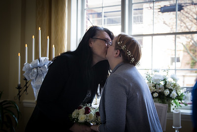 The bride may now kiss the bride