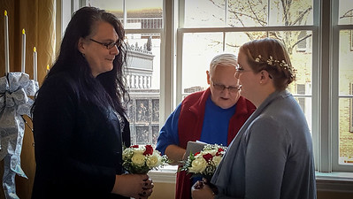 Vows being recited