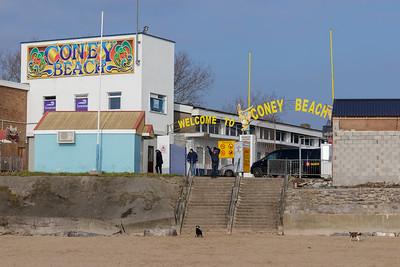 Coney Beach entrance gate