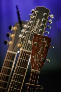 Martyn Joseph - guitar rack