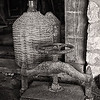 Press and Storage Jar, Cellar of The Greathouse, Whim Plantation, St. Croix, US Virgin Islands