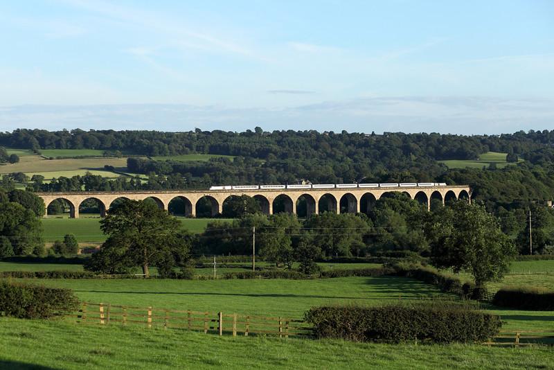 43317 & 43238 on Arthington Viaduct