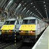 82222 and 82206 at Kings Cross