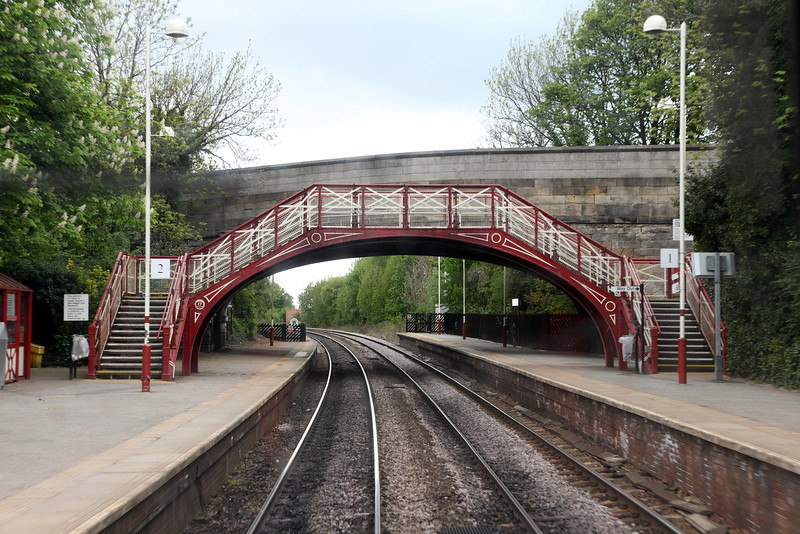Infrastructure - Garforth Station Footbridge
