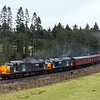 37038 & 37607 at Frosterley Bridge