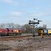 66087 & 37261 at Wrawby Jn.