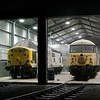 56061 & 37603 at Barrow Hill