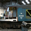 45105 at Barrow Hill Round House