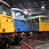 81002, E3035 & 85101 at Barrow Hill Roundhouse