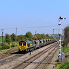 66563 at Thoresby Colliery Jn. sidings