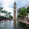 Former Kowloon-Canton Railway Clock Tower, Kowloon, Hong Kong
