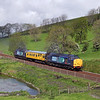 37601 & 37611 at Hellifield Pond