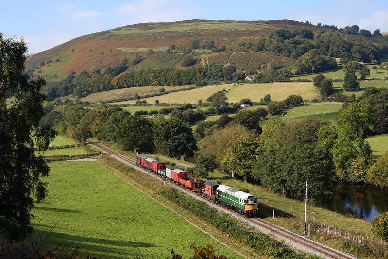 D5401 at Glyndyfrdwy