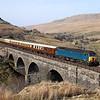 57316 at Ais Gill Viaduct
