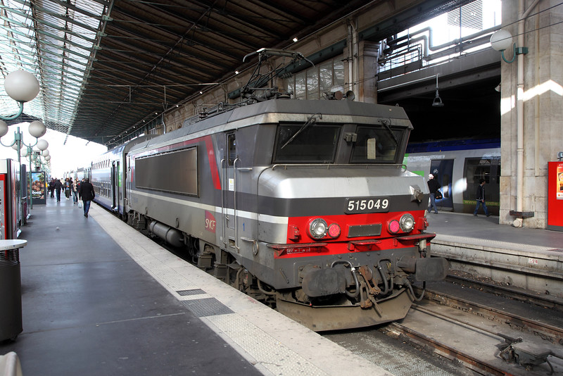 515049 at Paris Gare Du Nord