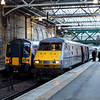 82218 & 350404 at Edinburgh Waverley
