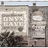 Painted Adverts, Spring Street, Eureka Springs, Ozark Mountains, Arkansas