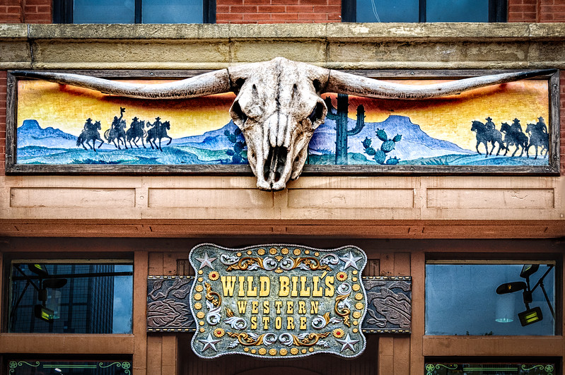 Wild Bill's Western Store, N. Market Street, Historic West End District, Downtown Dallas, Texas