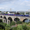 43189 on Coombe-By-Saltash Viaduct