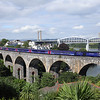 43193 on Coombe-By-Saltash Viaduct