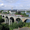 221136 on Coombe-By-Saltash Viaduct