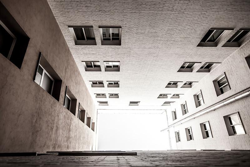 Tunnel Between Buildings