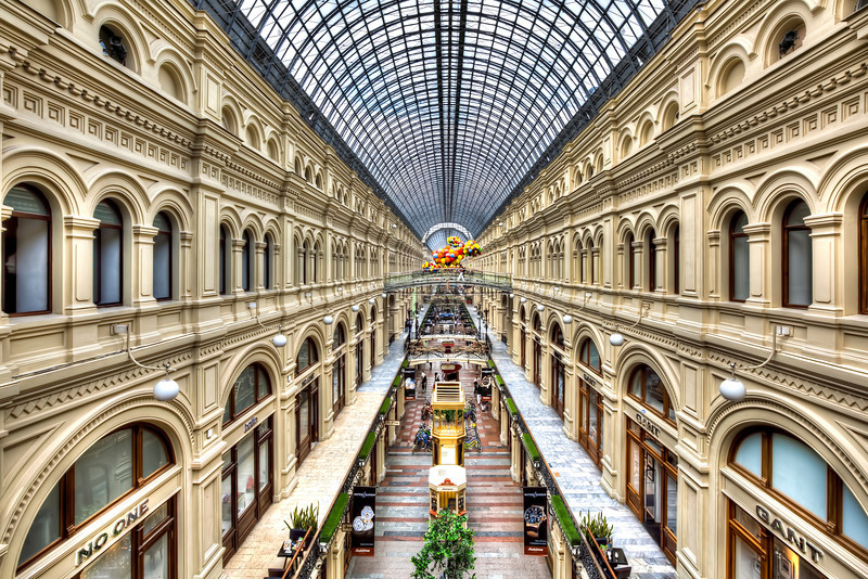 GUM Department Store in Moscow