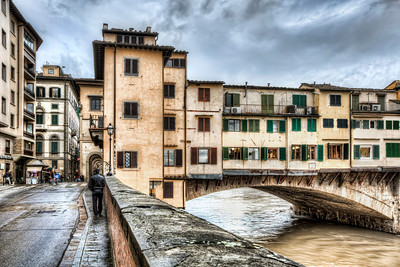 The Ponte Vecchio, Northeast Corner (Florence)