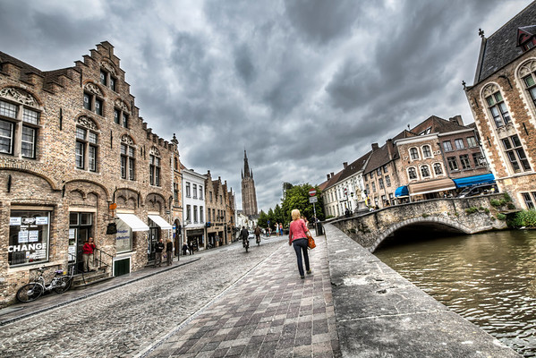 Strolling Around Bruges Streets
