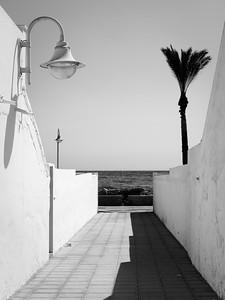Algarrobo costa, España.