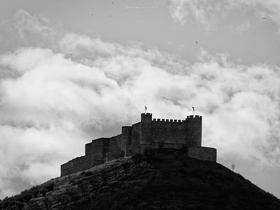 Castillo de Jadraque, España.