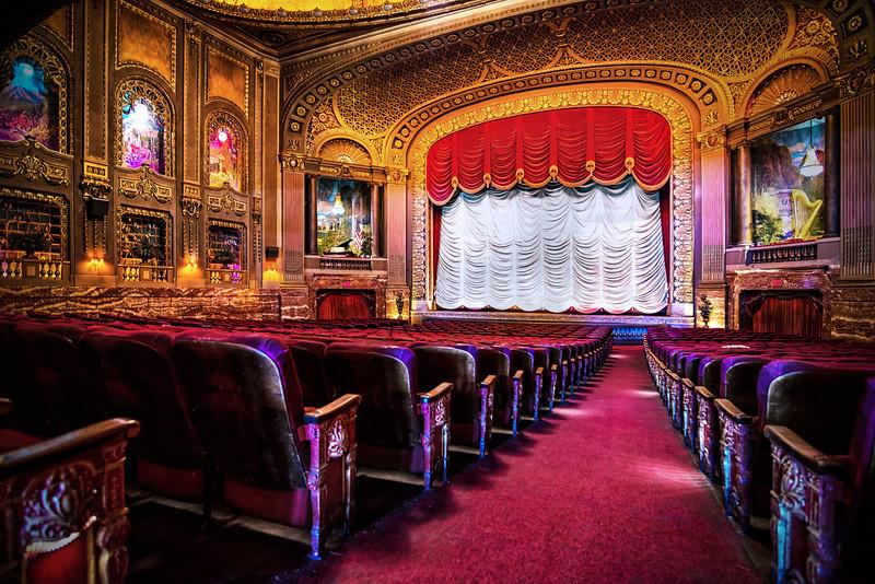 Byrd Theatre aisle seat