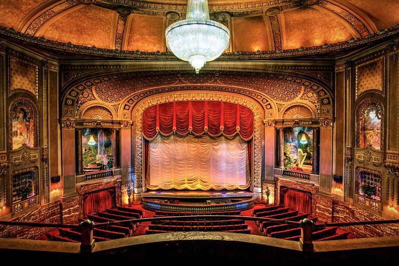 Byrd Theater balcony Seat