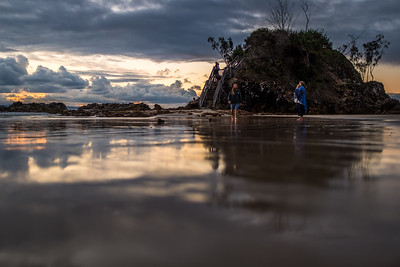The Fisherman's Lookout at Byron Bay.