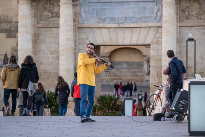 Street Musician, Roman bridge of Córdoba