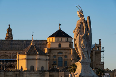 Statue of St. Raphael, Roman bridge of Córdoba