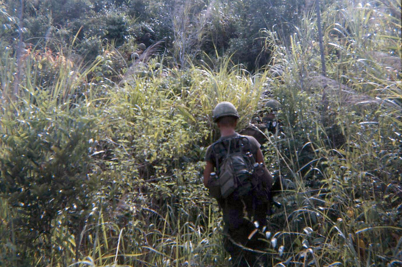On Patrol With D Company, 4/3 Infantry 11th LIB.