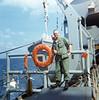Terry Elliott Aboard USNS Gorden