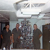 USNS Gorden Christmas Tree: Bjelland, Elliott, Heggness