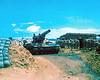 "8"" Self Propelled Howitzer So. Of Da Nang"