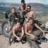Back Row:  Sgt. Abbe, Hector Cuecuecha, Dan Ramirez<br /> Front Row: ?, Donald Beck.