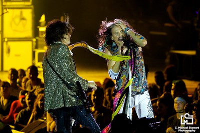 Aerosmith  Steven Tyler and Joe Perry