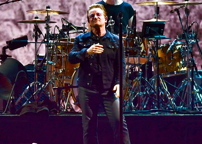 Bono  at Popa Johns Stadium in Louisville , Ky