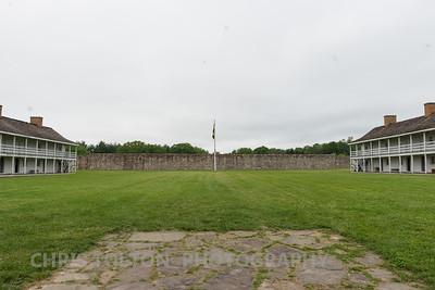 Inside Fort Frederick